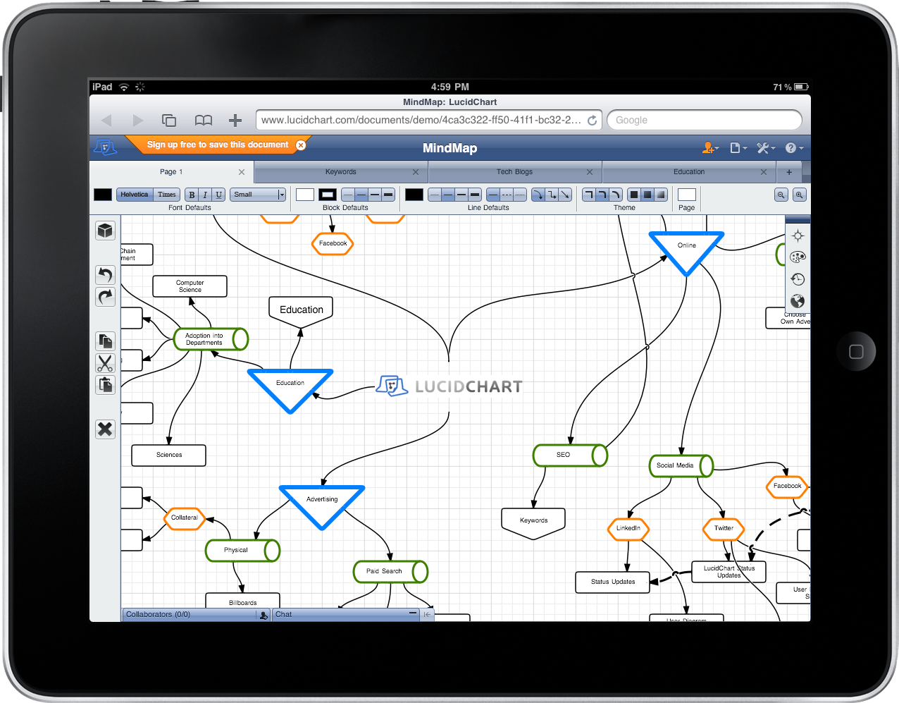 LucidChart Launches Offline, Accessibility Features at ... on internet map art, internet email, internet health, internet web app, internet map store, internet phone app, internet map history,