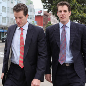 When did the winklevoss twins invest in bitcoin