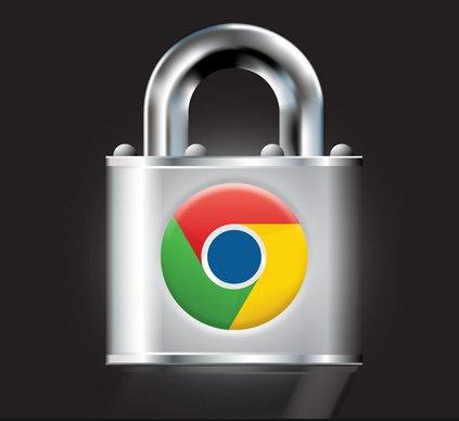 Google Chrome password protection
