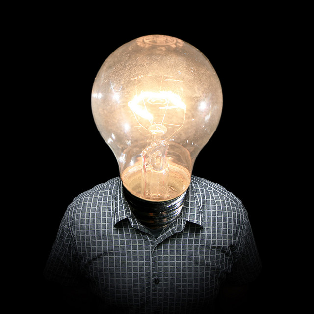 startup incubator bright idea aha light bulb moment