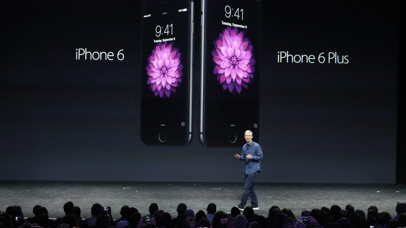Apple CEO Tim Cook Announces The iPhone 6