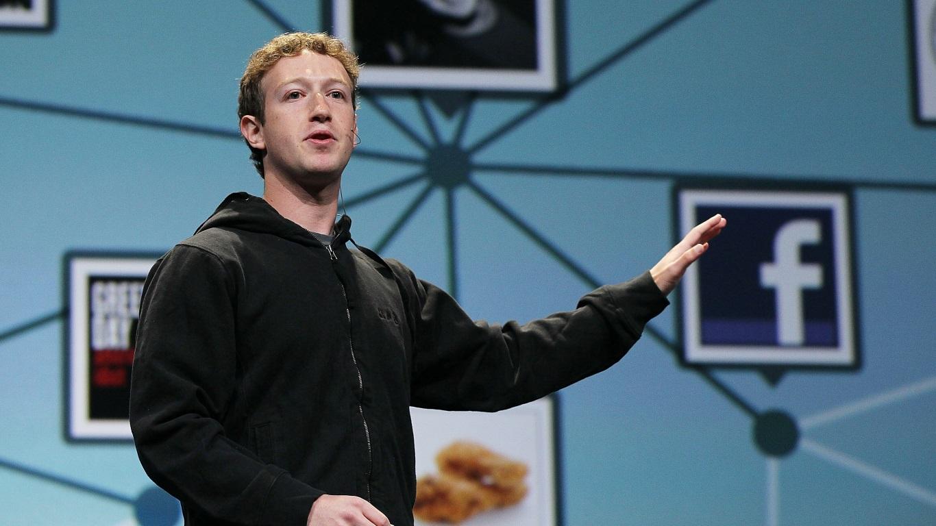Facebook's CEO Mark Zuckerberg