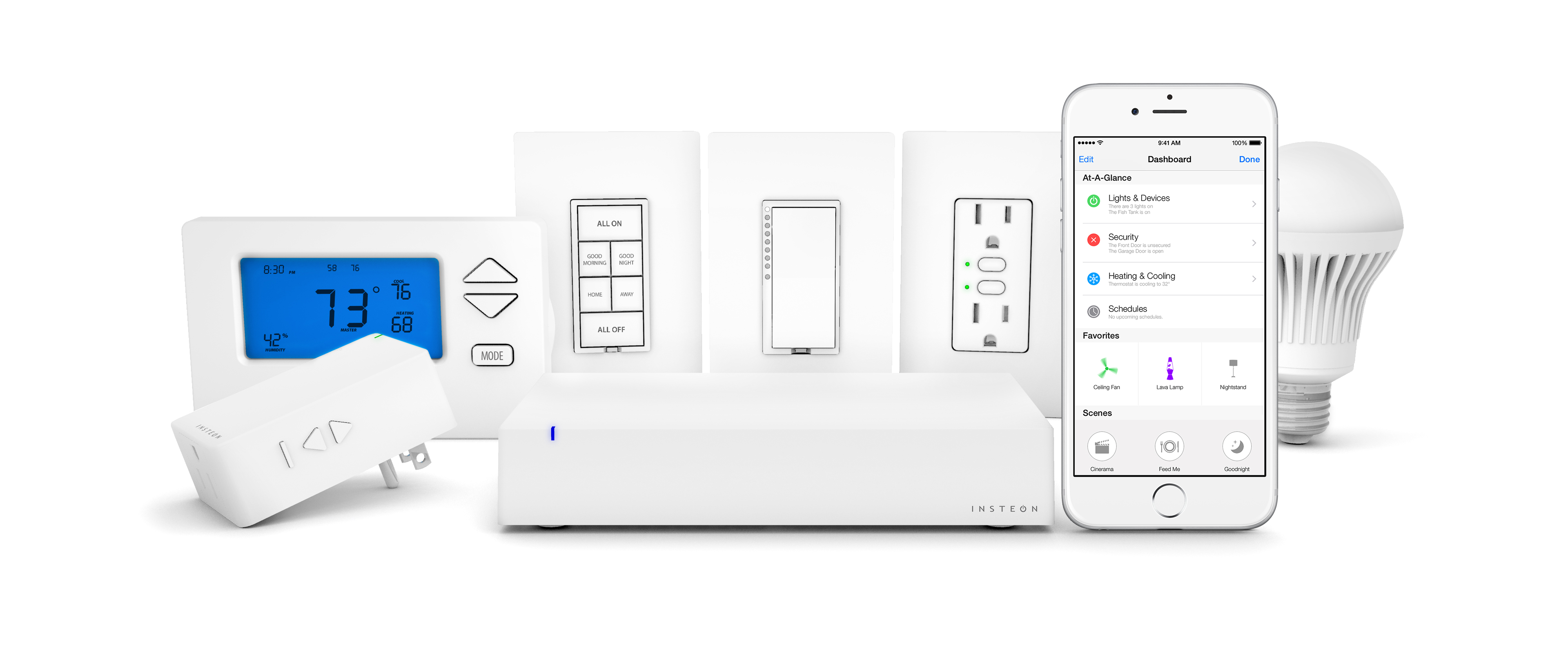 First apple homekit accessories for smart homes on sale now insteon hub homekit product family rubansaba
