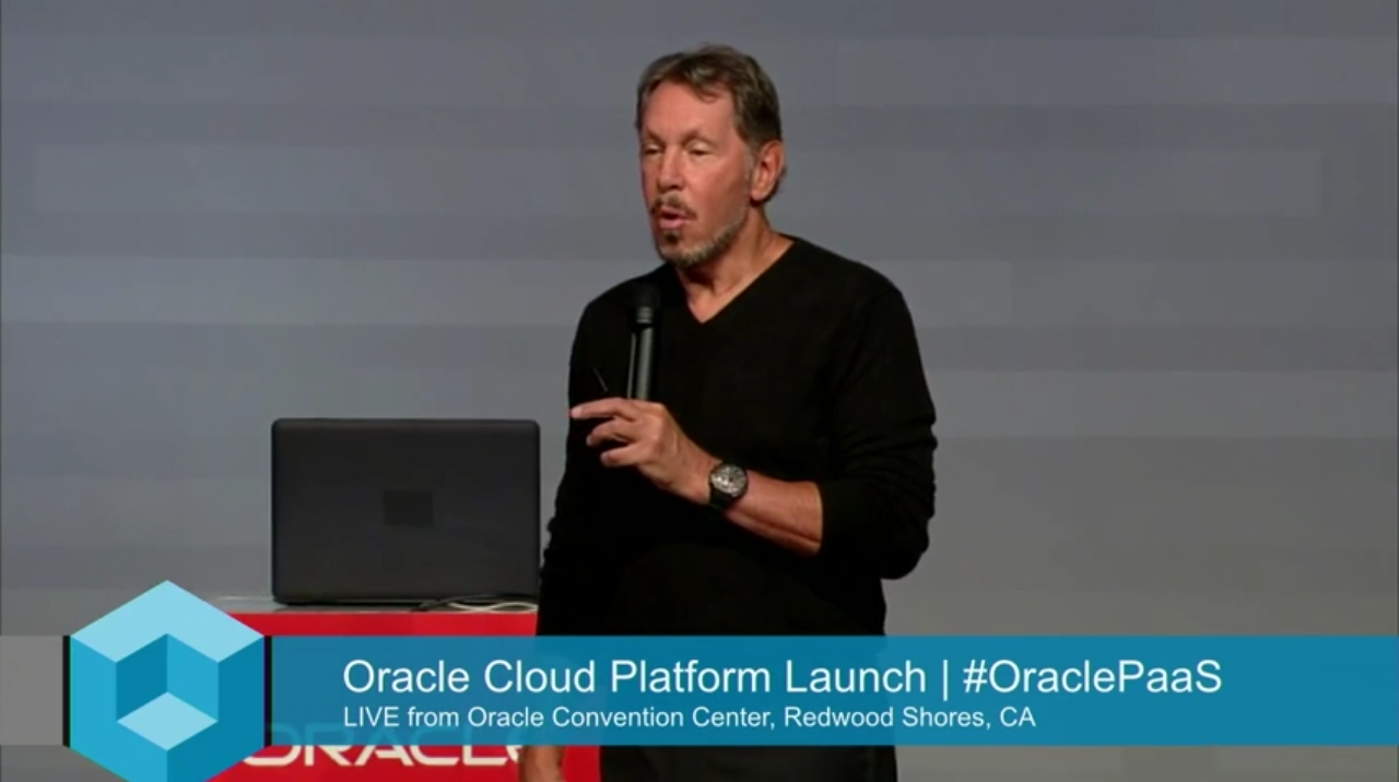 Keynote - Oracle Cloud Platform Launch Event