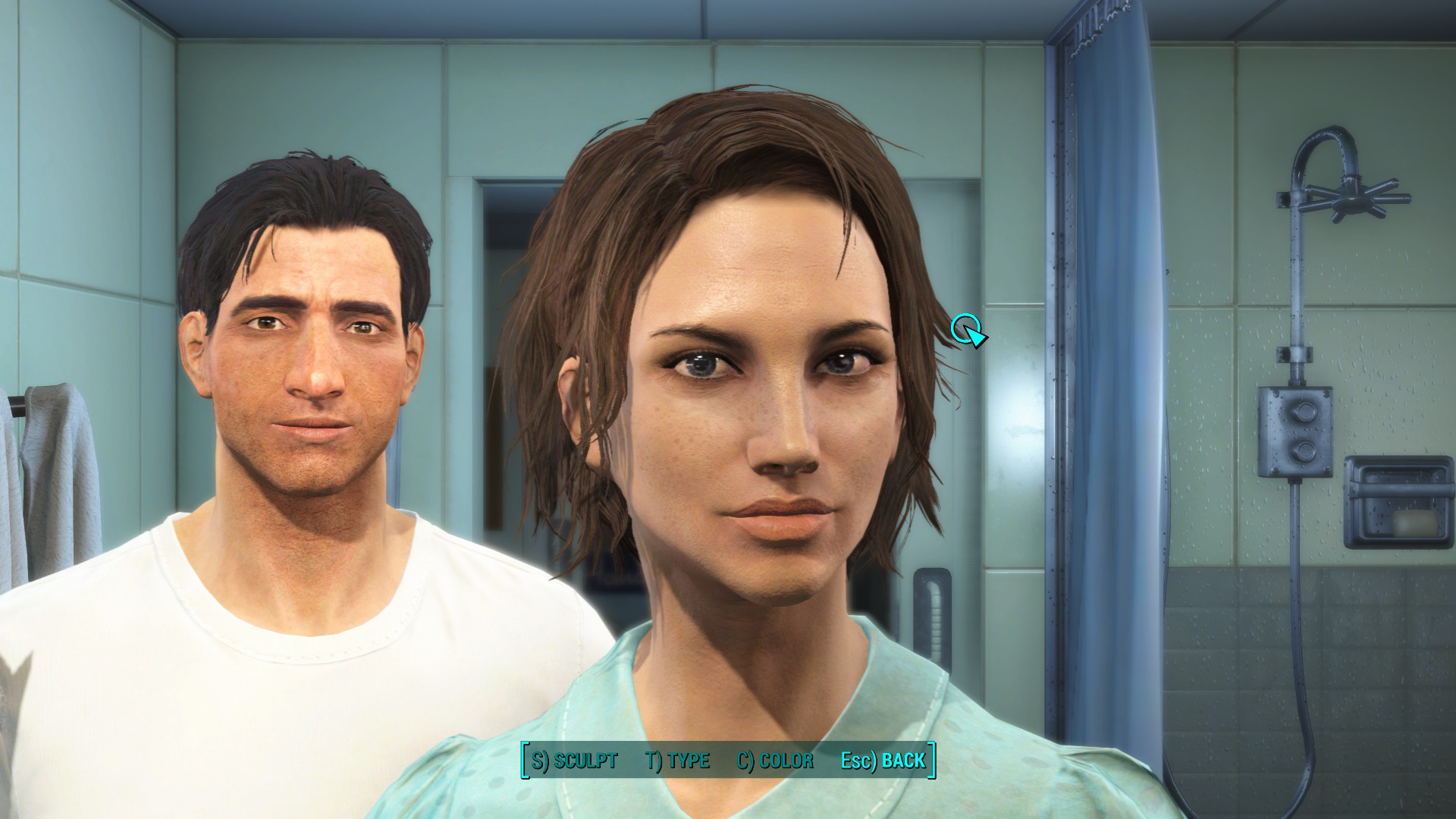 How to make a fallout 4 character that isnt butt ugly siliconangle fallout 4 character creation final solutioingenieria Image collections