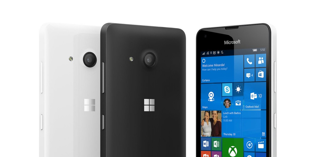 Microsoft has now launched its first low-cost Windows 10 phone