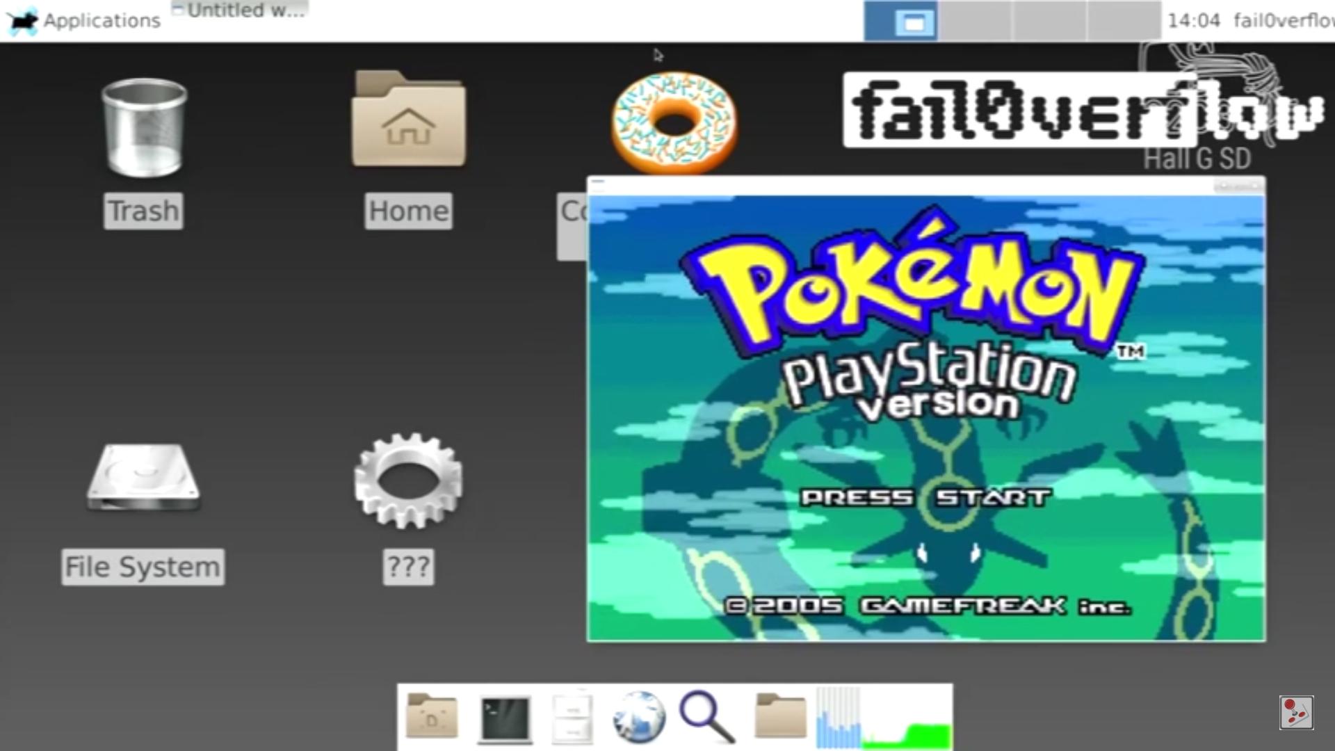 FailOverflow PlayStation 4 Linux hack