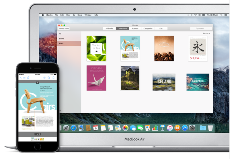 How to sync PDFs using iCloud for iBooks in iOS 9 3