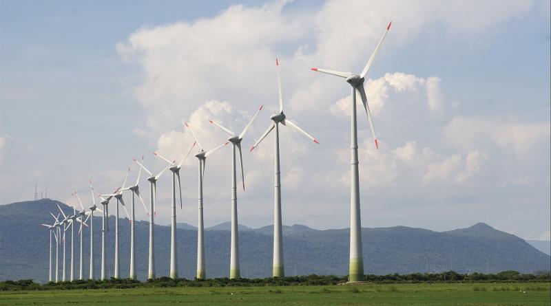 green wind iot turbine farm