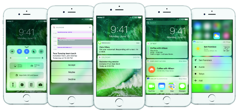 Ios 10 Tips Tricks How To Add And Remove Widgets From Your Lock