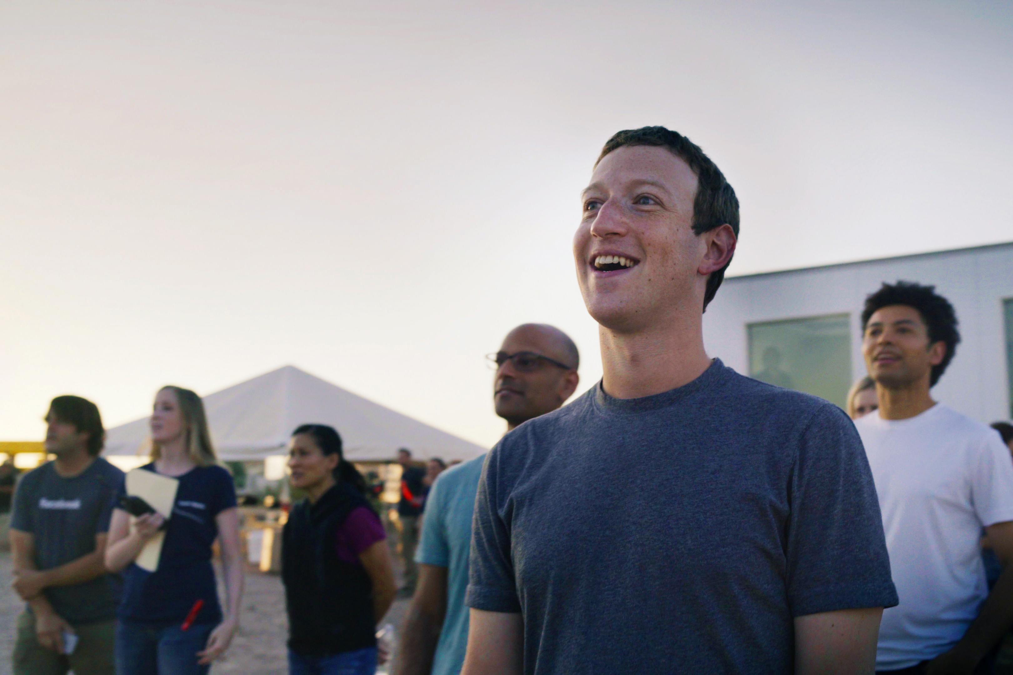 Facebook Zuckerberg Aquila Launch