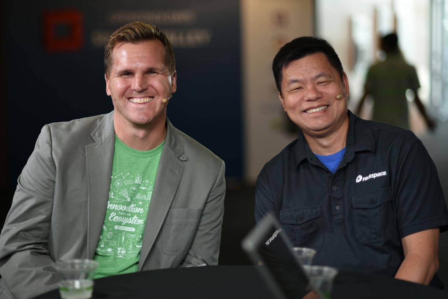 Kenny Johnston and Ken Hui - OpenStack SV 2016