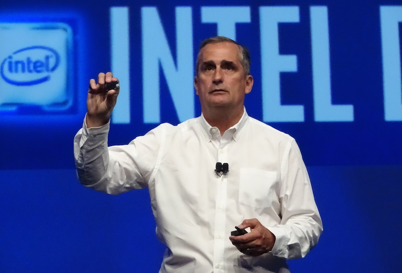Intel shares rise on Q4 beat
