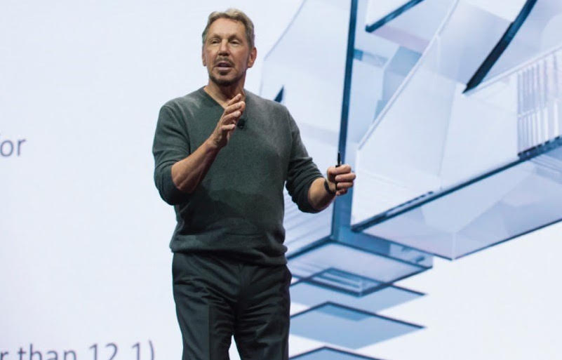 Oracle stock dropped nearly  8% after it gave a disappointing earnings forecast