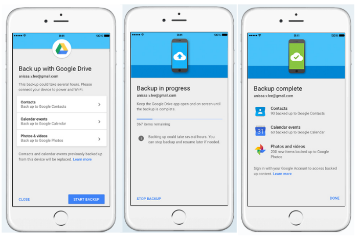 How to use Google Drive to move from iOS to Android - SiliconANGLE