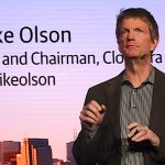 Cloudera's Mike Olson (Photo: SiliconANGLE)