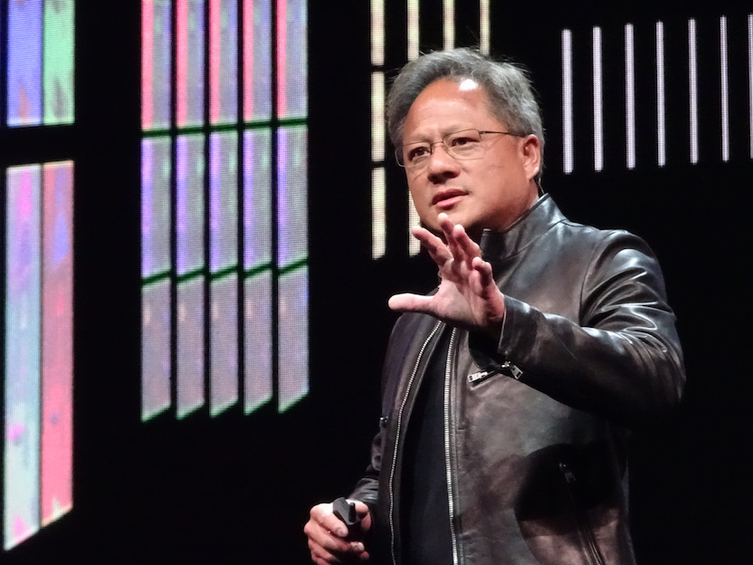 Nvidia Corp shares on the uptick after third quarter results beat market consensus