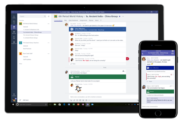 Microsoft Touts Progress Of Teams Chat App