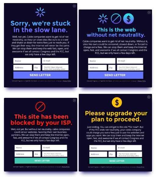 Net Neutrality Fight Takes Over the Web Today