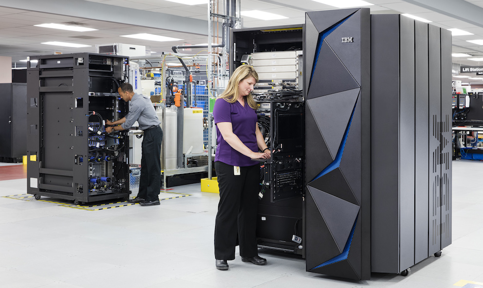 IBM wants you to encrypt everything with its new mainframe