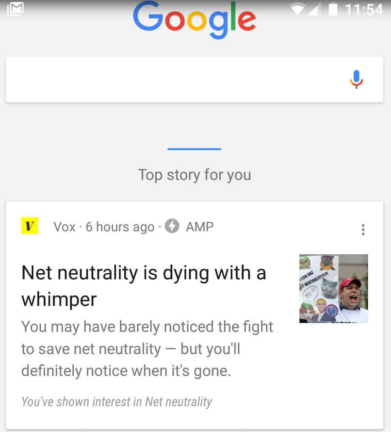 Google Introduces 'Google Feed' For Android And iOS
