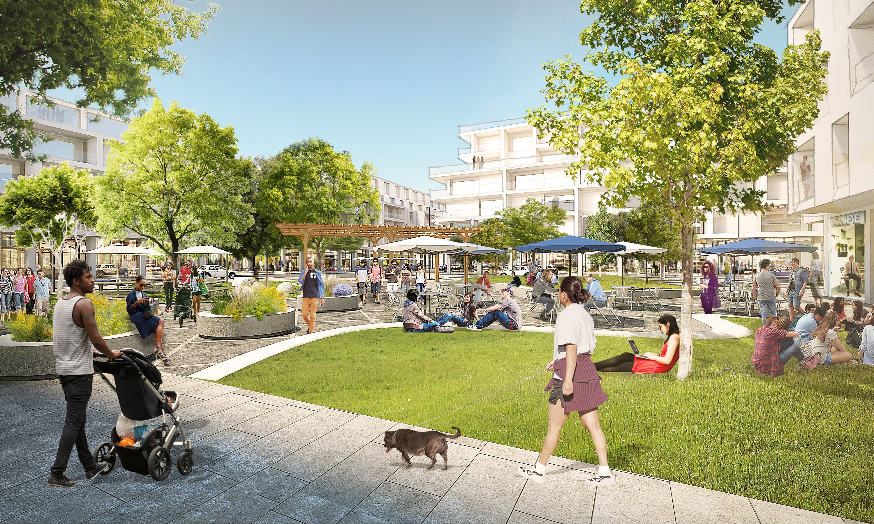 Campus  >> Facebook Is Turning Its New Willow Campus Into A Small City