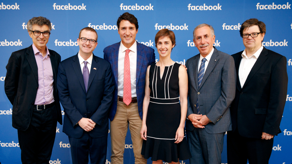 Facebook to open AI lab in Montreal headed by McGill professor