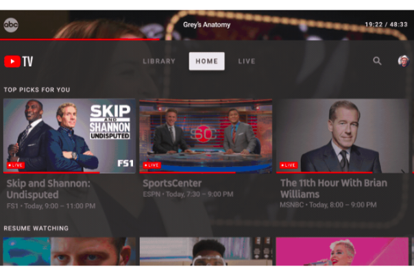Google Expands Paid Tv Service With Dedicated Youtube Tv App For Large Screens Siliconangle