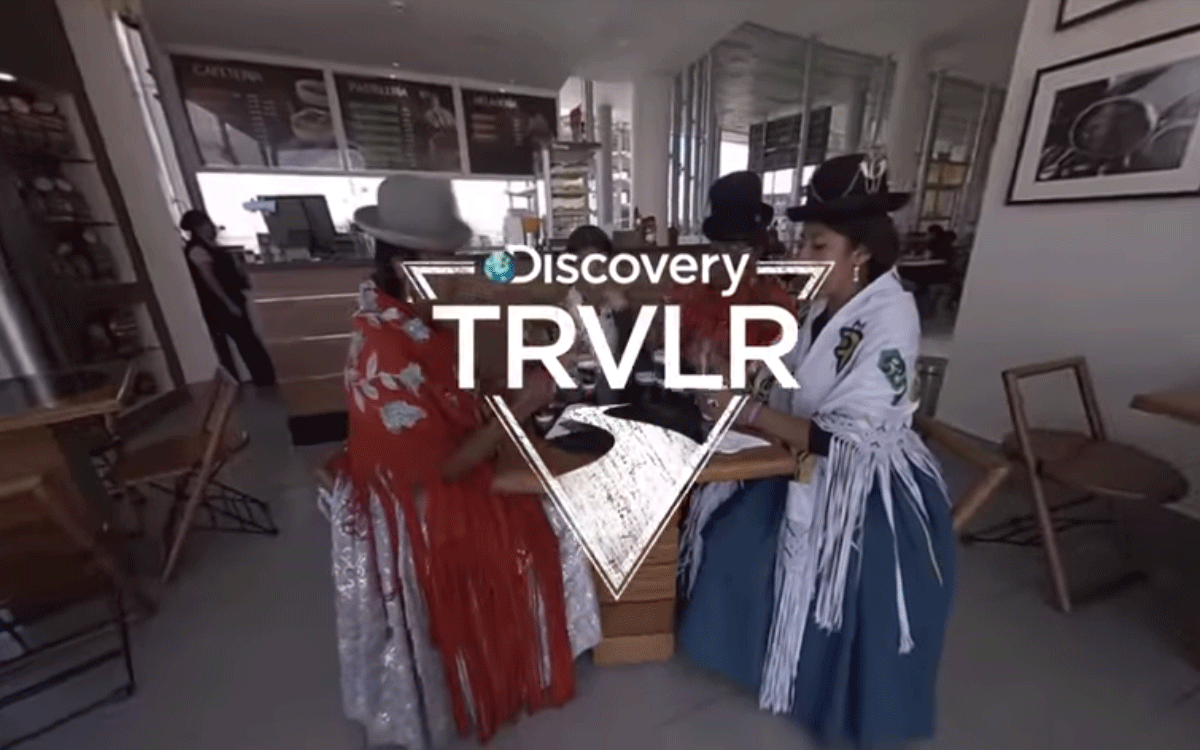 Discovery partners with Google on VR series