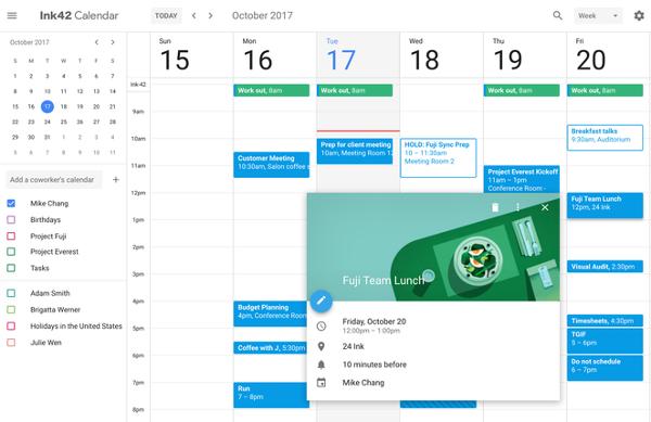 Google Suite Change Meeting Rooms