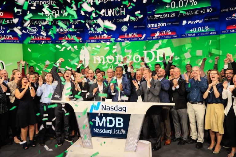 IPO frenzy? MongoDB shares soar 34% in today's initial public offering