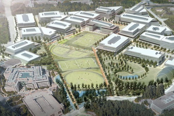 We're razing our Redmond campus to build a mini city