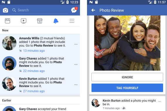 Facebook to Alert Users Spotted in Untagged Pics