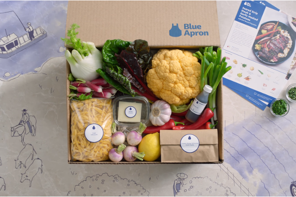 Blue Apron loses its CEO