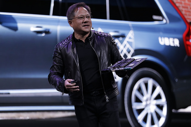 Volkswagen shares rise, carmaker announces Nvidia self-driving tech partnership