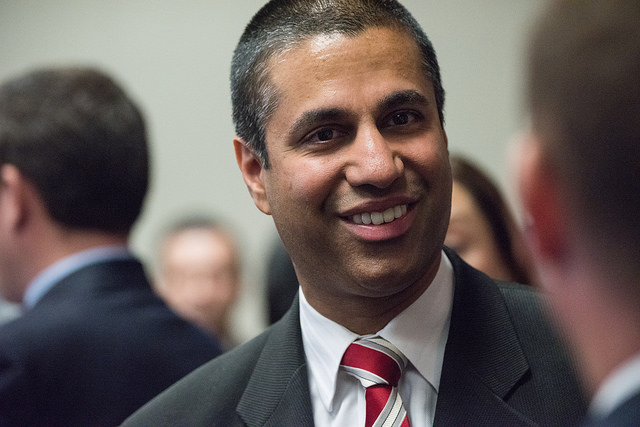 Death threats reportedly behind FCC Chair Ajit Pai's abrupt CES cancelation