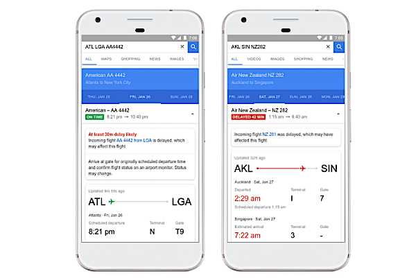 Google will use machine learning to predict flight delays before the airlines