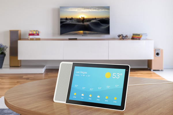 Lenovo Smart Display with Google Assistant via Lenovo