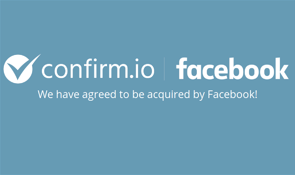 Facebook buys biometric ID verification startup Confirm.io