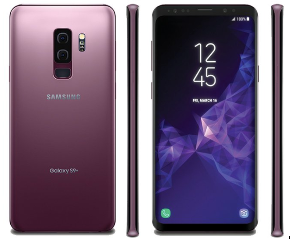 The latest render of the Galaxy S9+ showing the new dual rear-facing cameras via Evan Blass