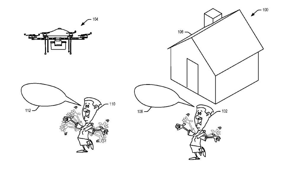 Amazon Patent Imagines A Drone That Recognizes Hand Signals