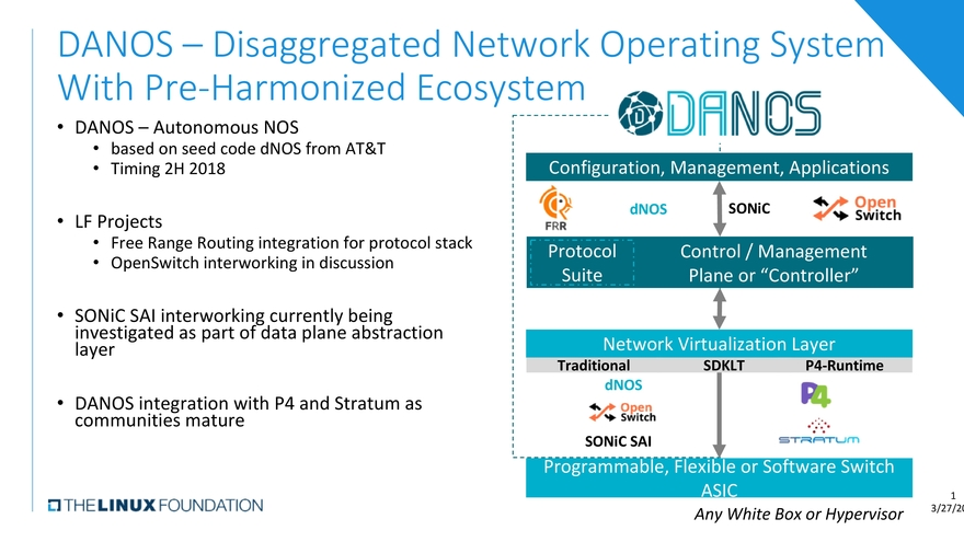 Att And The Linux Foundation Pitch New Network Operating System