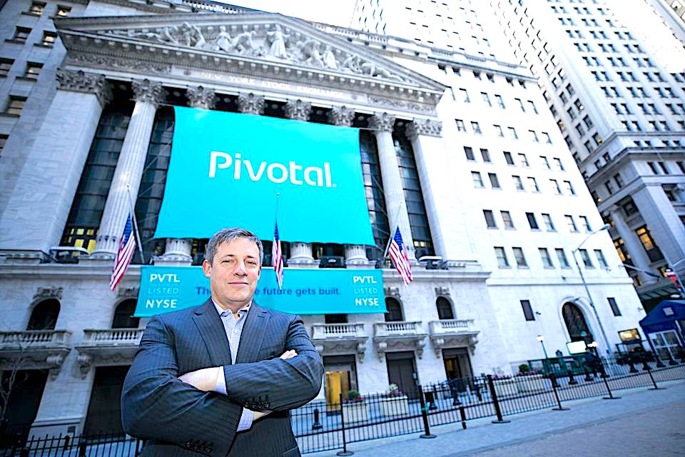 Pivotal Software closes up 5% following IPO, raised $555 million