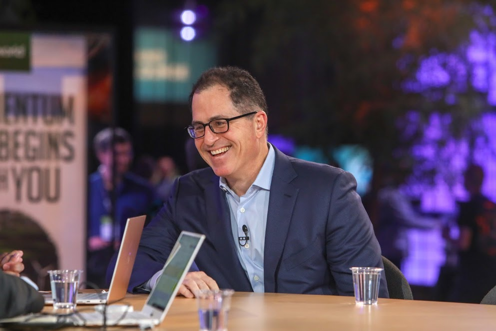Life on the edge: Michael Dell has made a career out of ignoring the obvious