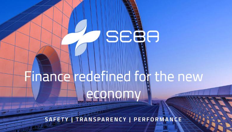 Cryptocurrency news SEBA