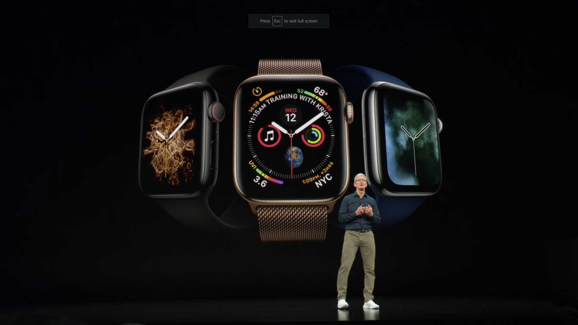 Apple Wows At Unveiling Of Series 4 Watch And Iphone Xs Max Largest Fpga 68 Billion Transistors Timcook6