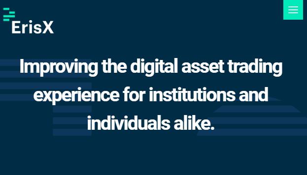Digital asset exchange startup ErisX raises $27.5M in new funding