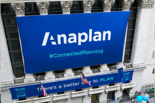 Anaplan Shares Surge 43% in Debut, Shrugging Off Market Turmoil
