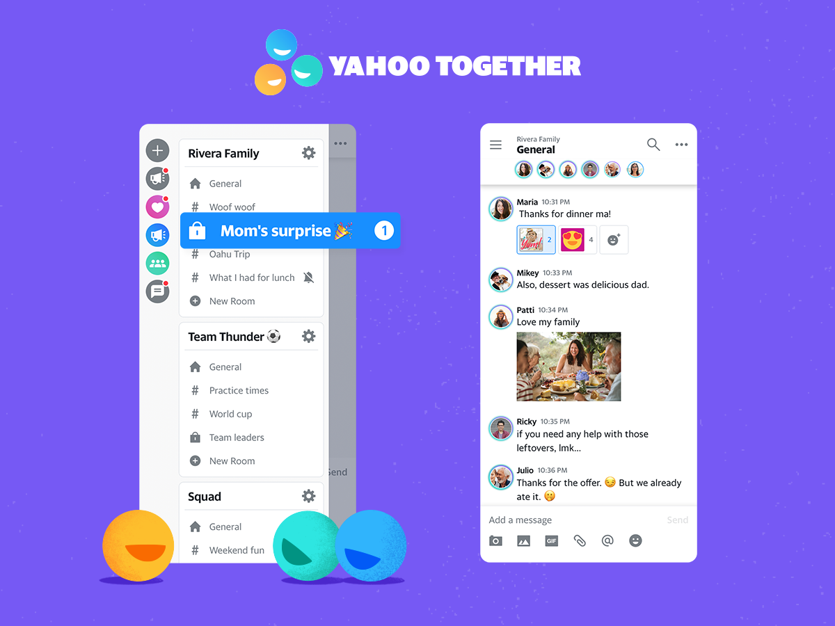 Yahoo launches new messaging app that channels Slack and ICQ