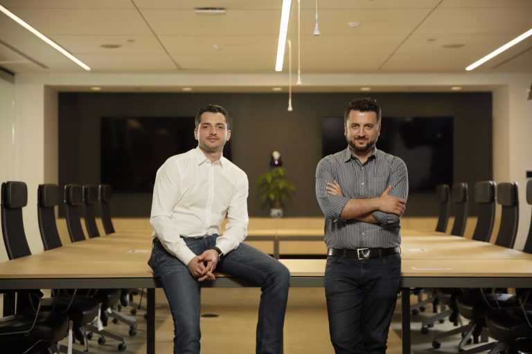 L.A.-area company ServiceTitan, led by cofounders Ara Mahdessian and Vahe Kuzoyan, has raised $62 million in Series C funding in a round led by Battery Ventures. (PRNewsfoto/ServiceTitan)